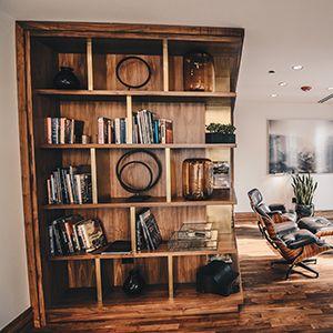 furniture store shelves