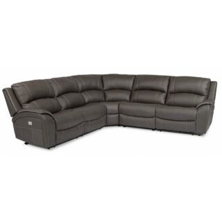 Marina Power Reclining Sectional with Power Headrests