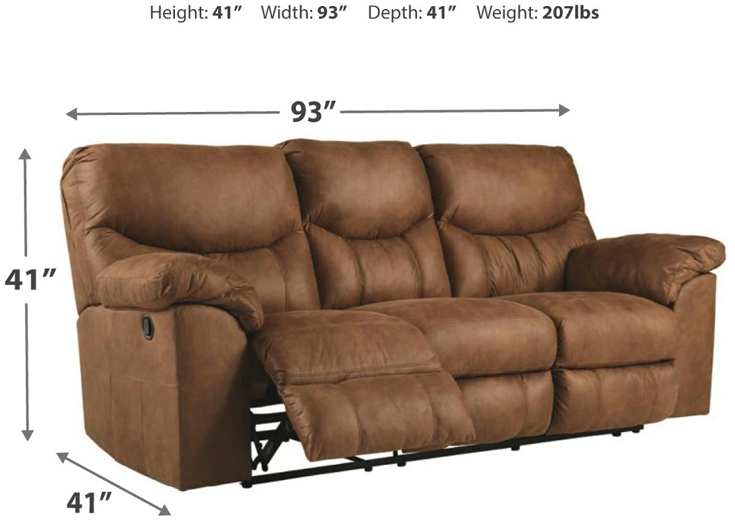 Boxberg Power Reclining Sofa Dimension