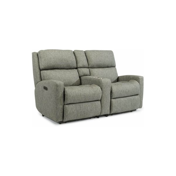 Catalina Power Reclining Loveseat with Console and Power Headrests