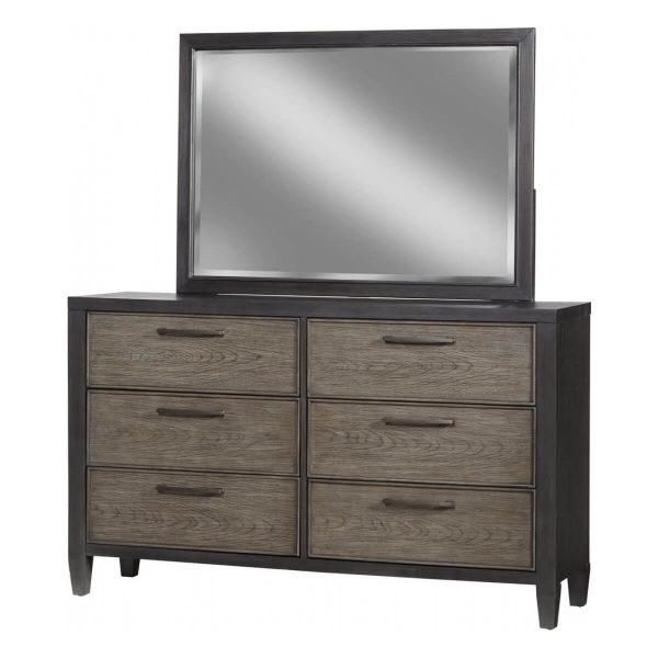 Marlo 978-650 Dresser in Two-tone